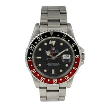 Rolex 16710 Steel 1998 GMT-Master II 40mm pre-owned