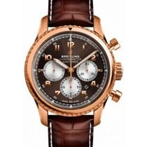 Breitling Navitimer 8 Rose gold 43mm Arabic numerals