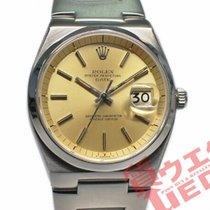 Rolex Oyster Perpetual Date Steel 36mm Silver