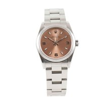 Rolex Oyster Perpetual 31 Staal 29.5mm Bruin