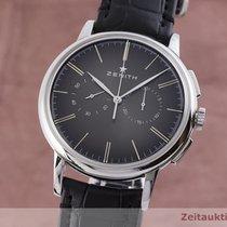 Zenith Elite Chronograph Classic Steel 42mm Black