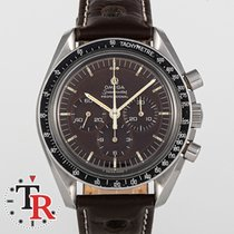 Omega Speedmaster Professional Moonwatch Steel 41mm Brown No numerals