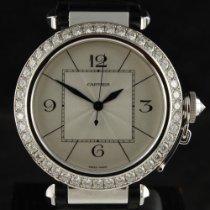 Cartier Pasha Aur alb Argint
