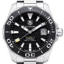 TAG Heuer Steel 41mm Automatic WAY211A.BA0928 pre-owned