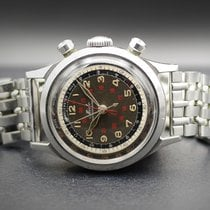 Mido Steel 36mm Manual winding centerchrono pre-owned