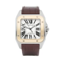 Cartier Santos 100 W20072X7 or 2656 2008 pre-owned