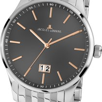 Jacques Lemans Classic London Steel 40mm Grey