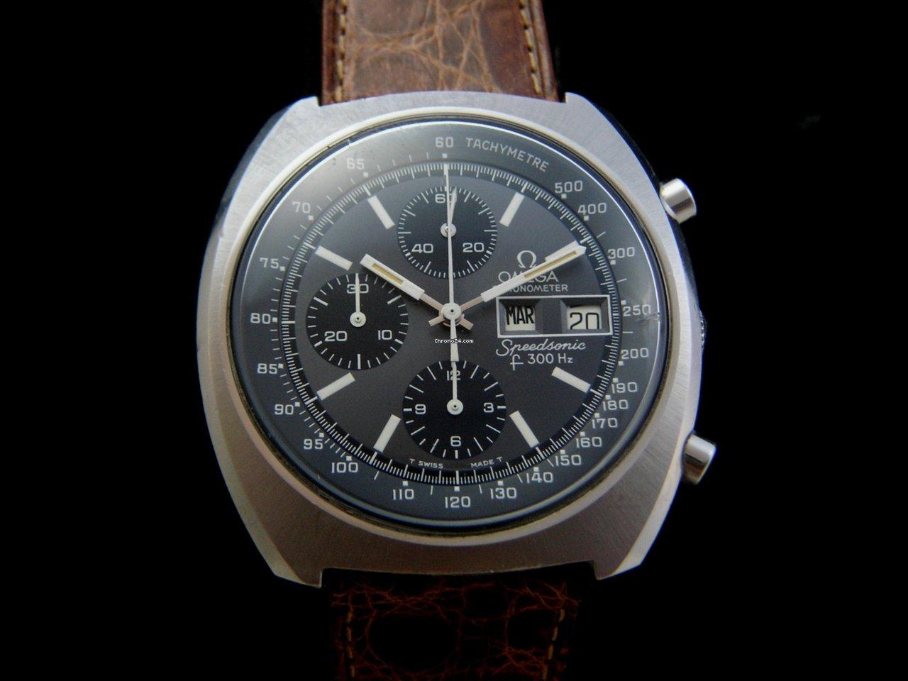 Omega Speedsonic Chronometer Chronograph Sold On Chrono24