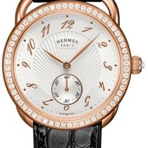 Hermès Arceau Rose gold 34mm Silver United States of America, New York, Airmont