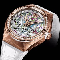 Franck Dubarry Or rose 43mm Remontage automatique REV-05-04 nouveau
