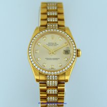 Rolex 178288 Or jaune Datejust 31mm occasion