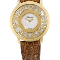 Chopard | A Lady's Yellow Gold, Mother-of-pearl and...