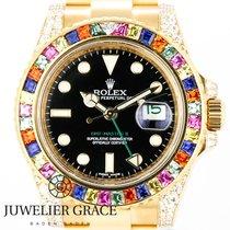 Rolex GMT-Master II 18K Haribo Diamond Aftermarket