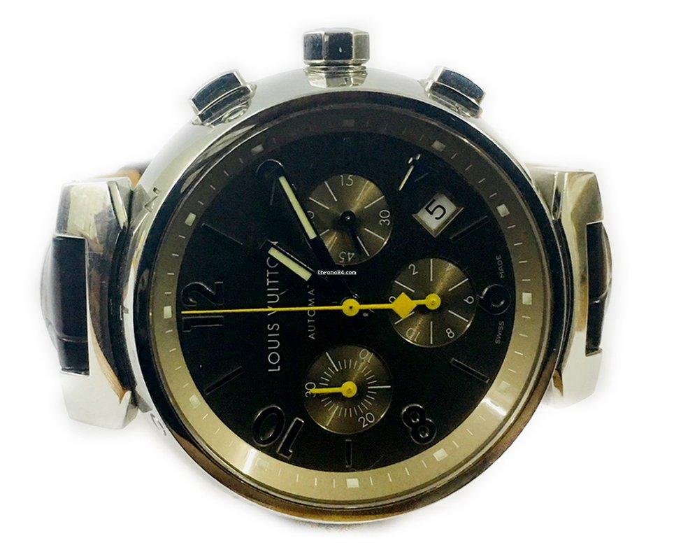 816b420f0f5 Relógios Louis Vuitton usados - Compare os preços de relógios Louis Vuitton  usados