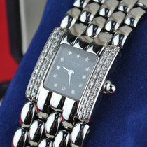 "Chaumet Model ""Khesis"" Diamond  Luxury Stainless Steel Quartz"