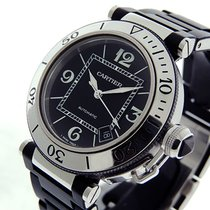 Cartier Pasha Seatimer Steel 41mm Black Arabic numerals United States of America, California, Los Angeles
