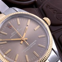 Rolex 5500 Model 14K/SS Oyster Perpetual - Chocolate Polar...