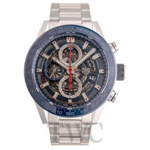 TAG Heuer Carrera Calibre HEUER 01 new Automatic Watch with original box and original papers CAR201T.BA0766