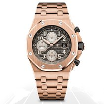 Audemars Piguet Royal Oak Offshore Chronograph Rose gold 42mm Grey Arabic numerals