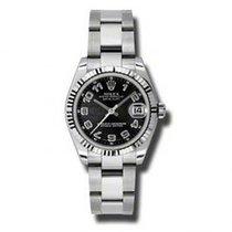 Rolex Lady-Datejust nuevo Reloj con estuche y documentos originales 178274 BKCAO