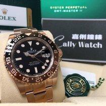 Rolex Pозовое золото Автоподзавод Чёрный 40mm новые GMT-Master II