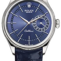 Rolex Cellini Date White gold 39mm Blue United States of America, New York, Airmont