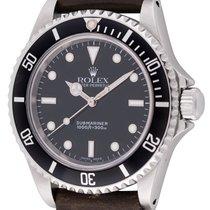 Rolex : Submariner :  14060M :  Stainless Steel : black dial