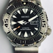 Seiko Monster Staal 43mm
