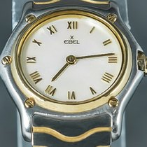 Ebel Or/Acier 25mm Quartz E1157111 occasion