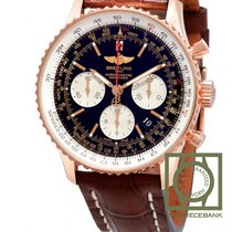 Breitling Red gold Automatic Black 43mm new Navitimer 01