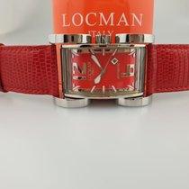 Locman Latin Lover Steel 33mm Red