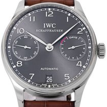 IWC IW500106 White gold 2006 Portuguese Automatic 42.3mm pre-owned