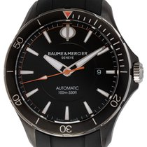 Baume & Mercier Clifton Steel 42mm Black United States of America, Texas, Austin