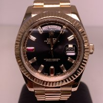 Rolex 218235 Or rose 2015 Day-Date II 41mm occasion