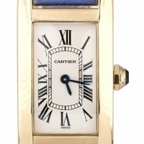 Cartier Tank Américaine Yellow gold 18mm Roman numerals United States of America, New York, Lynbrook