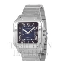 Cartier Santos (submodel) Steel 37mm Blue Roman numerals United States of America, New York, Hartsdale
