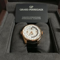 Girard Perregaux Rose gold Automatic Silver 40mm pre-owned WW.TC
