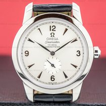 Omega Seamaster Gold/Steel 39mm Silver Arabic numerals