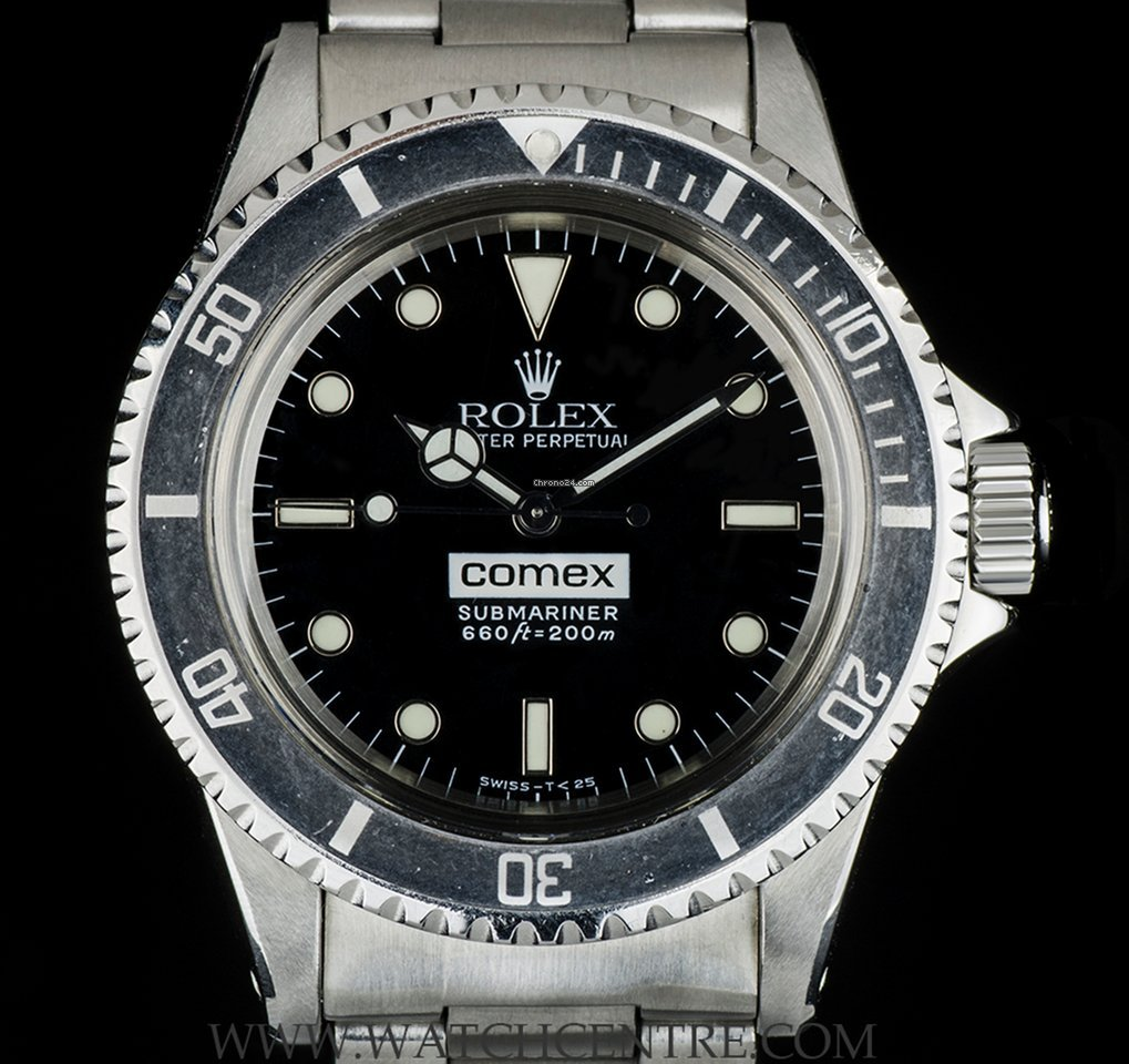 Rolex Comex Submariner Vintage 5514 For 163 42 500 For Sale