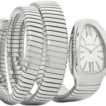 Bulgari Serpenti Steel 35mm Silver