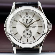 Patek Philippe 5134P-001 Travel Time Manual Silver Dial...