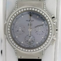 Hublot Elegant Steel 36mm Mother of pearl No numerals