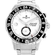 Perrelet 42mm Automatic 2017 pre-owned Seacraft White