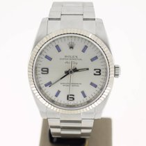 Rolex Air King Steel 36mm Silver/BlueDial (BOXonly2007) MINT
