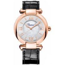 Chopard Imperiale Rose gold 36mm Silver Roman numerals United States of America, New York, NEW YORK