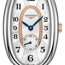 Longines Symphonette Steel 21.9mm Mother of pearl