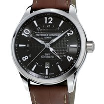 Frederique Constant Runabout Automatic FC-350RMG5B6 Frederique Constant Runabout GMT Nero Pelle new
