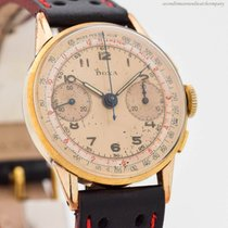 Doxa Chronograph 34mm Manual winding 1950 pre-owned Champagne