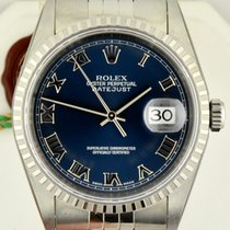 Rolex Datejust Blue Roman Dial NEW Box and Papers