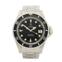 Tudor 40mm Automatic 1992 pre-owned Submariner Black